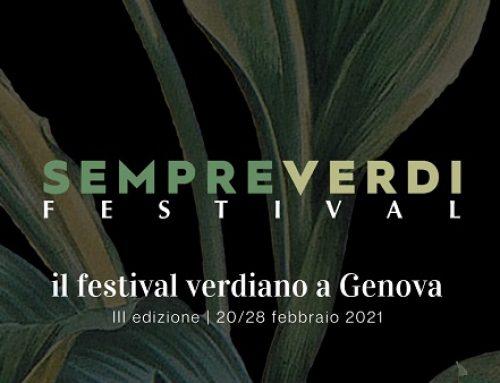 Dal 20 al 28 febbraio prende il via la III edizione del SempreVerdi Festival